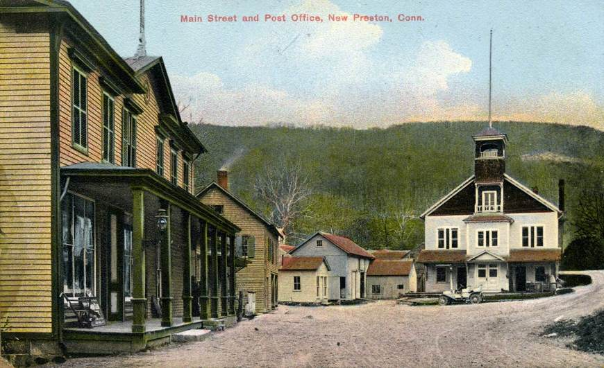 New Preston Village Circa 1910 from Gunn Museum
