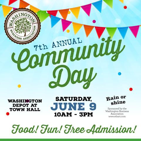 washington ct community day