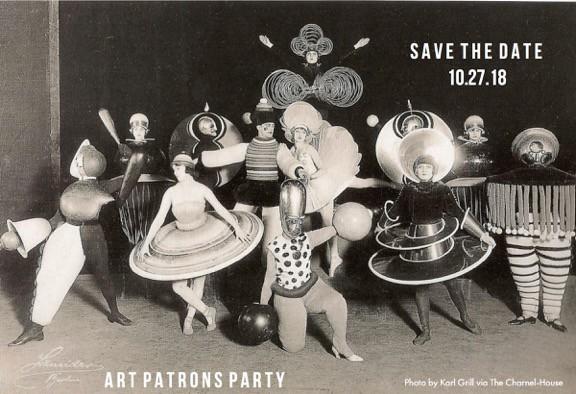 washington art association patrons party