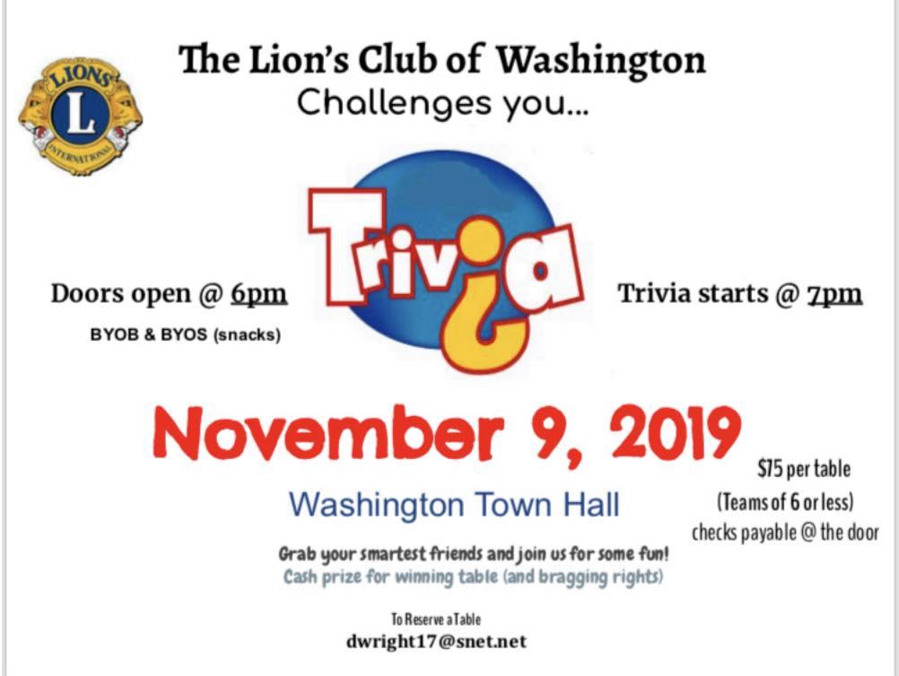 Washington Lions Club