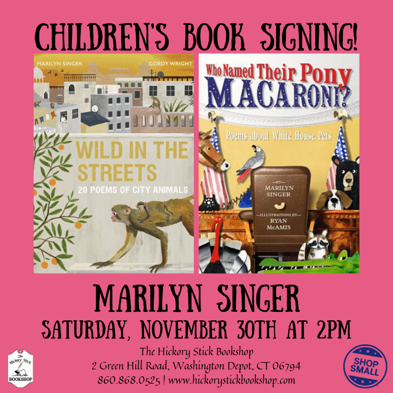 Children's Book Signing with Marilyn Singer
