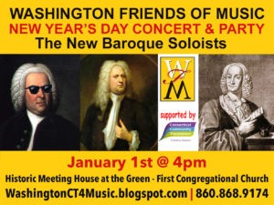 Washington Friends of Music New Years Day Concert